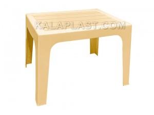 میز عسلی پلاستیکی طرح چوب کد 730