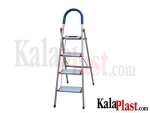 نردبان آلومینیومی 4 طبقه کد 101