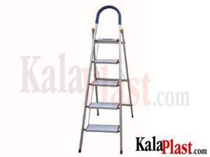 نردبان آلومینیومی 5 طبقه کد 102