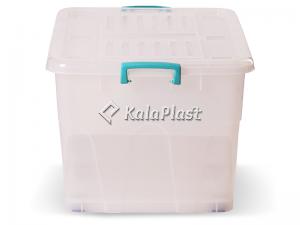 صندوق چرخدار بزرگ کد 209 / شفاف
