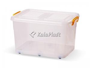 صندوق چرخدار کد 208 / شفاف