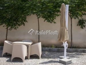 چتر آلومینیومی مفضلی هشت ضلعی قطر 3متر