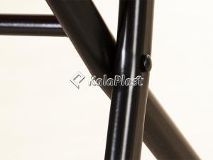 چهار پایه تمام فلزی تاشو کوتاه