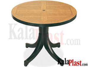 میز دایره طرح چوب.jpg