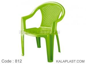 صندلی دسته دار حصیری بزرگ 812