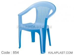 صندلی دسته دار حصیری 854