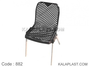 صندلی بدون دسته پایه فلزی کد 882