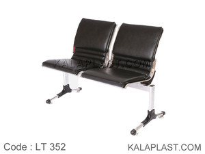 صندلی انتظار 2 نفره پانچ بدون دسته با تشک