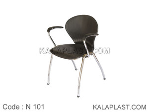 صندلی انتظار دسته دار بدون رویه کوبی کد N102