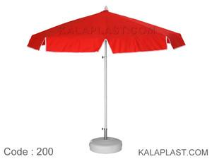 چتر های نانو با قطر 2 متر با کفی پلاستیکی