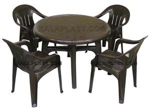 ست میز و صندلی 4 نفره پونه 112-204