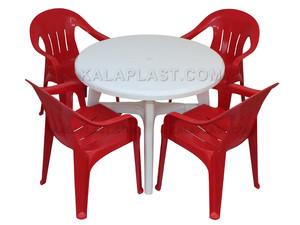 ست میز و صندلی 4 نفره کد S104