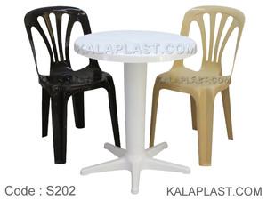 ست میز و صندلی 2 نفره کد S202