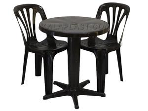انواع ست میز و صندلی پلاستیکی در کالاپلاست