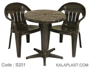 ست میز و صندلی 2 نفره کد S201