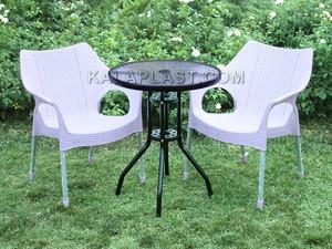 ست میز و صندلی 2 نفره ونیز کد S270