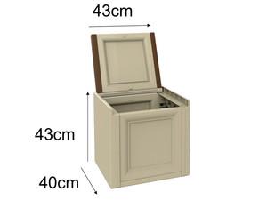 صندوق پلاستیکی 40×47 کد 1240