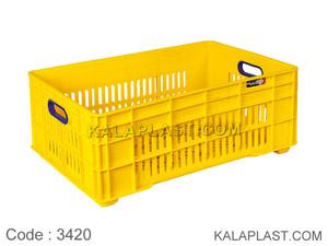 سبد صنعتی پلاستیکی کد 3420