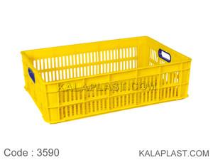 سبد صنعتی پلاستیکی کد 3590
