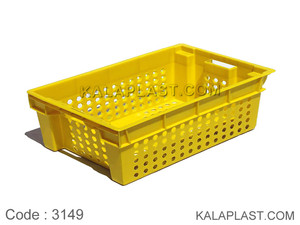 سبد صنعتی پلاستیکی کد 3149