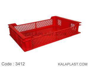 سبد صنعتی پلاستیکی کد 3412