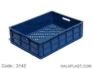 سبد صنعتی پلاستیکی کد 3142