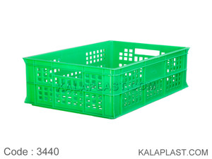 سبد صنعتی پلاستیکی کد 3440