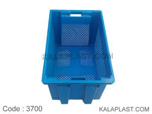 سبد صنعتی پلاستیکی کد 3700