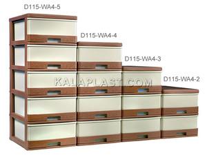 فایل کوچک حصیرباف دل آسا D115-WA4