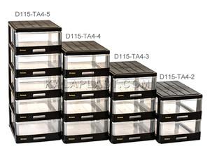 فایل کوچک شفاف دل آسا D115-TA4