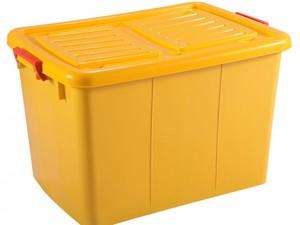 صندوق چرخدار بزرگ زرد کد 209