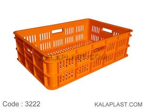 سبد صنعتی پلاستیکی کد 3222
