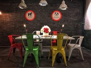 صندلی دسته دار فلزی تولیکس کد N502