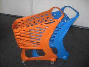 سبد خرید چرخدار پلی کربنات فروشگاهی 90 لیتری