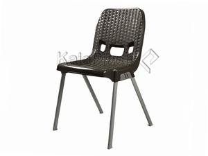 صندلی بدون دسته طرح حصیری با پایه فلزی کد 881