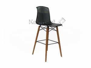 صندلی کانتر آلگرا با پایه چوبی