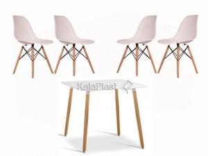 ست میز و صندلی 4 نفره ژینا کد 440