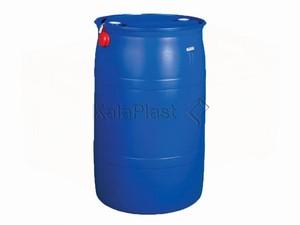 بشکه 220 لیتری دهانه بسته دو پیچ