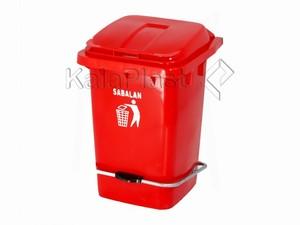 سطل پدالدار 60 لیتری با پدال فلزی سبلان