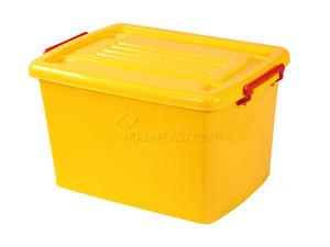 صندوق چرخدار کد 207 / زرد