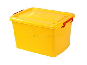 صندوق چرخدار کد 206 / زرد