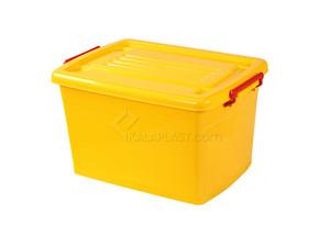 صندوق چرخدار کوچک کد 204 - زرد