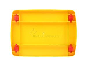 صندوق چرخدار زرد کد 206