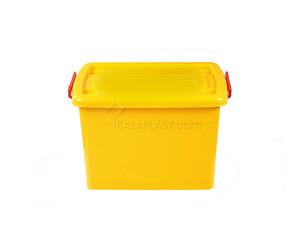 صندوق چرخدار زرد کد 205