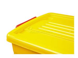 صندوق چرخدار کوچک زرد کد 204