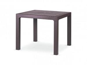 میز 4 نفره مربع پلاستیکی بوستون