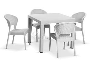ست میز و صندلی 4 نفره ناپولی کد 972323