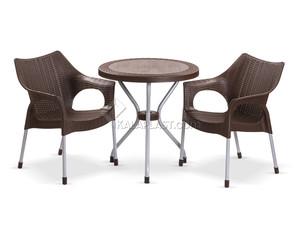 ست میز و صندلی دو نفره لیون 991422