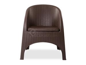 صندلی مبلی حصیری آروبا کد 890