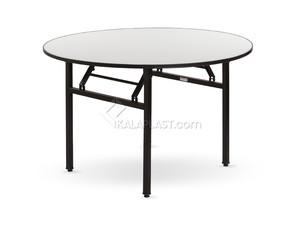 میز 6 نفره دایره تاشو رینو قطر 150 سانت